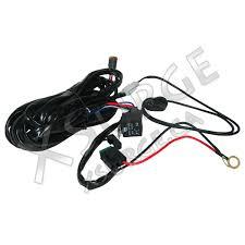 wiring harness for single row led light bar xsurge led lights wiring harness for single row led bar