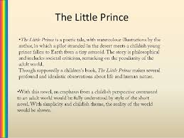 essay on the little prince critical essay on the little prince