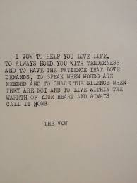 The Vow Quotes Mesmerizing Vow Poems