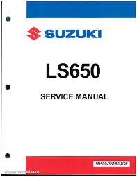 ls650 savage s40 boulevard 1986 2009 suzuki motorcycle service manual