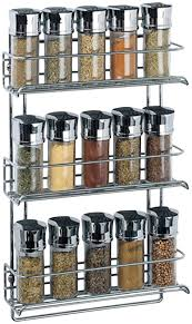 Kitchen Wall Hanging Neu Home 3 Tier Wall Mounted Spice Rack Chrome Spice Racks