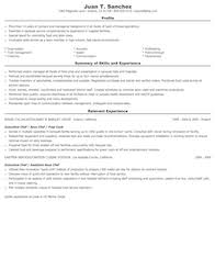 food preparation and serving related resume samples .