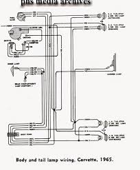 tech series 1965 chevrolet corvette wiring diagrams engine fuse click on image for larger detail