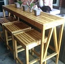 bar height table homemade best tables ideas on diy top building arcade cabinet high popular impressive