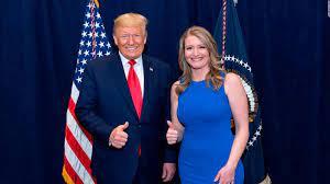 Trump's legal adviser Jenna Ellis in ...