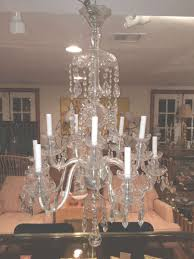furniture cute waterford chandelier for 23 antler crystal lamps wagon wheel throughout waterford chandelier for