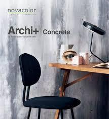 Archi Concrete Novacolor Srl Pdf Catalogues Documentation
