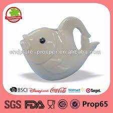 fish ceramic garden water pot