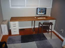 Counter Top Desks Giant Ikea Numerar Desk 6 Steps