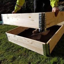 raised bed kit bulk bag garden