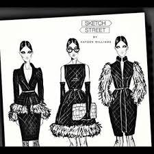 Beautiful Fashion Illustrations By Hayden Williams