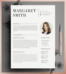 Resume Template CV Template Editable in MS Word and by CvDesignCo |  Creative resume by CVdesign | Pinterest | Cv template, Template and Layouts