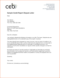 credit dispute letter template best business template with regard to credit report dispute letter