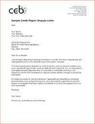 credit report dispute letter template