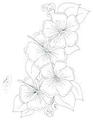 Vase With Flowers Coloring Page 488websitedesigncom