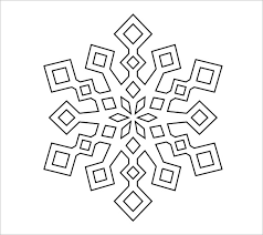 Blank Snowflake Template Templates Of Snowflakes Magdalene Project Org