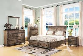 rustic bedroom furniture sets.  Furniture Fortuna 4 Piece Rustic Bedroom Furniture Eastern King Set In Weathered  Brown Finish Review By Www To Sets I