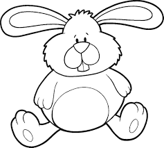 Easter Bunny Coloring Pages To Print Best Easter Bunny Coloring