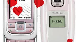 pink with Nokia 6111 and LG C3300 - CNET