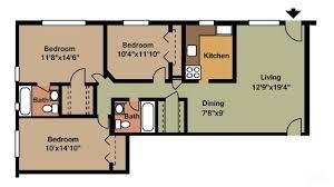 apartment 3 bedroom. 3 bedroom mid-rise apartment