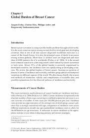 breast cancer epidemiology springer breast cancer epidemiology breast cancer epidemiology