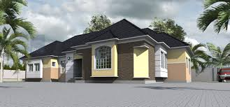 Modern 4 Bedroom House Plans Contemporary Nigerian Residential Architecture 4 Bedroom Bungalow