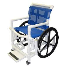 healthline cal shower wheelchair with sling seat