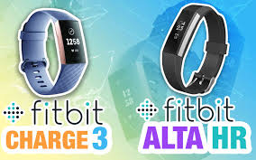 Fitbit Charge Hr Vs Fitbit Charge 2 Comparison Chart Fitbit Charge 3 Vs Altra Hr Fitnesss Tracker Comparison