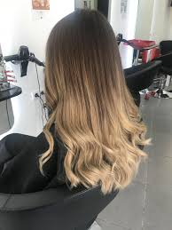 Hair Ombre Waivy Blond