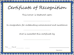 certificate of recognition templates certificate award template 13 of recognition 4gwifi me