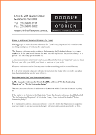 Character Reference Letter For A Friend Template Design