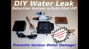Diy Water Leak Detection System W Auto Shut Off