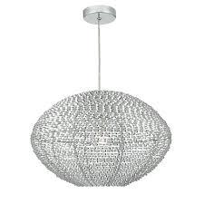 oisin decorative aluminium easy fit pendant lampshade ois6568