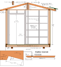 Small Picture Garden Shed Plans 8x12 Home Design
