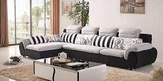l shape fabric sofa set new design 2018 2019 sofakoe with regard to