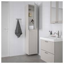 Ikea Godmorgon High Cabinet Kasjön Light Gray In 2019 Bathroom