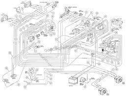 1995 club car ds wiring diagram club car v wiring