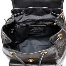fake leather backpacks for school