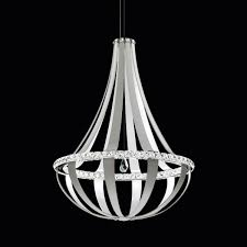 crystal empire led pendant