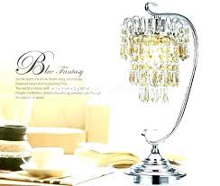decoration pink crystal table lamp chandelier chandeliers whole cordless bead birthday decorations in spanish