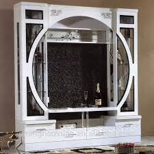 glass wall unit for living room. china factory wood living room furniture 9919# modern glass tv wall units unit for i