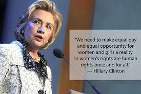 Women's Rights Quotes Enchanting Equality Quotes Inspiring Feminist Equality Quotes By Hillary Clinton