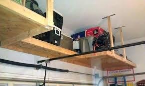 hanging garage storage hanging garage shelves with chains hanging garage shelves overhead garage storage shelf overhead