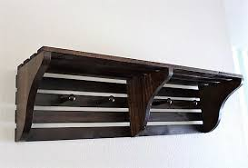 Rustic Coat Rack With Shelf Entryway Organizer Rustic Coat Rack with Shelf Ideal Farmhouse 69