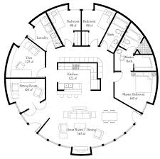 1210 best floor plans images on pinterest small houses, floor Two Storey House Plan Description plan number dl5006 floor area 1,964 square feet diameter 50' 3 bedrooms Simple Small House Floor Plans