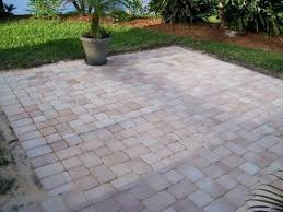 simple paver patio. Pavers Around Concrete Patio A Simple Can Extend Your Existing For Larger Paver