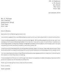 Sample Marketing Cover Letters   Resume CV Cover Letter