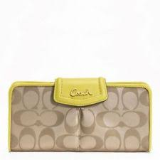 Coach Women s Wallets for sale   eBay