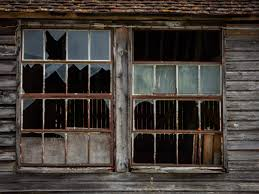 how to repair a broken glass window