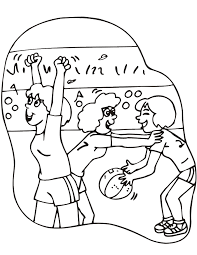 Small Picture Basketball Coloring Picture Girls Basketball Game 10